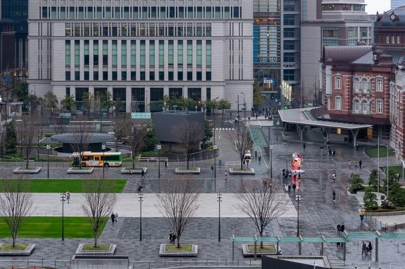 東京駅丸の内駅前広場の写真