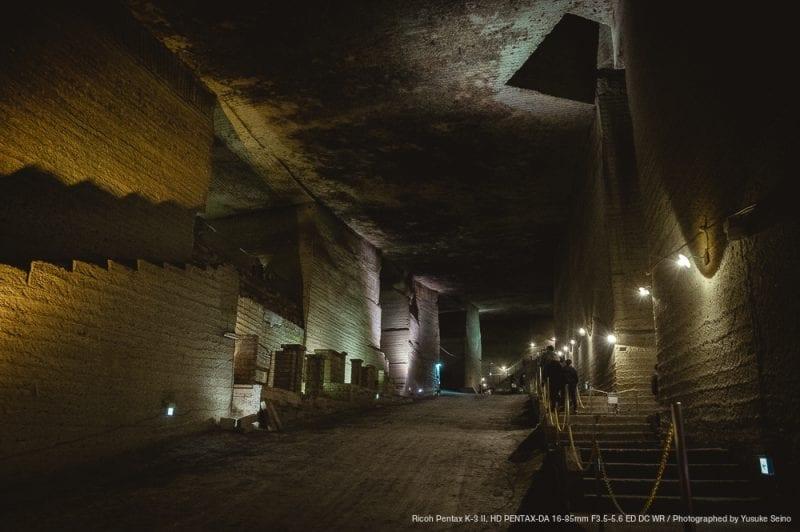 栃木の地下神殿『大谷資料館』の写真