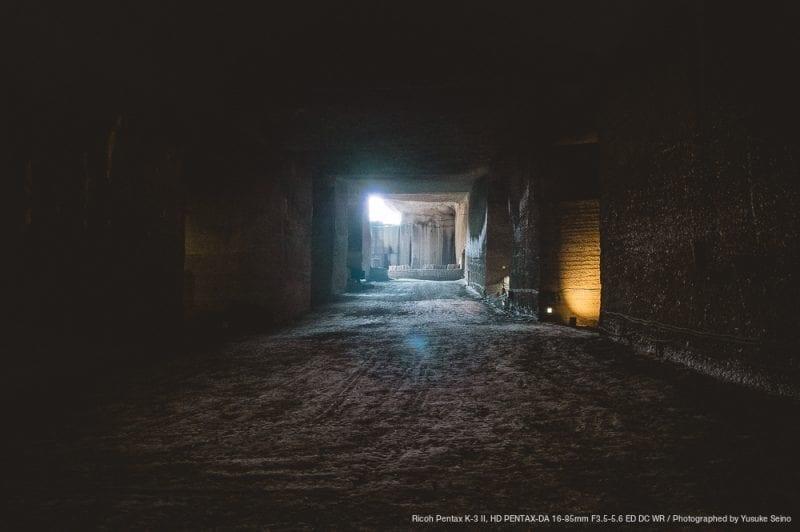 光の差し込む場所の写真