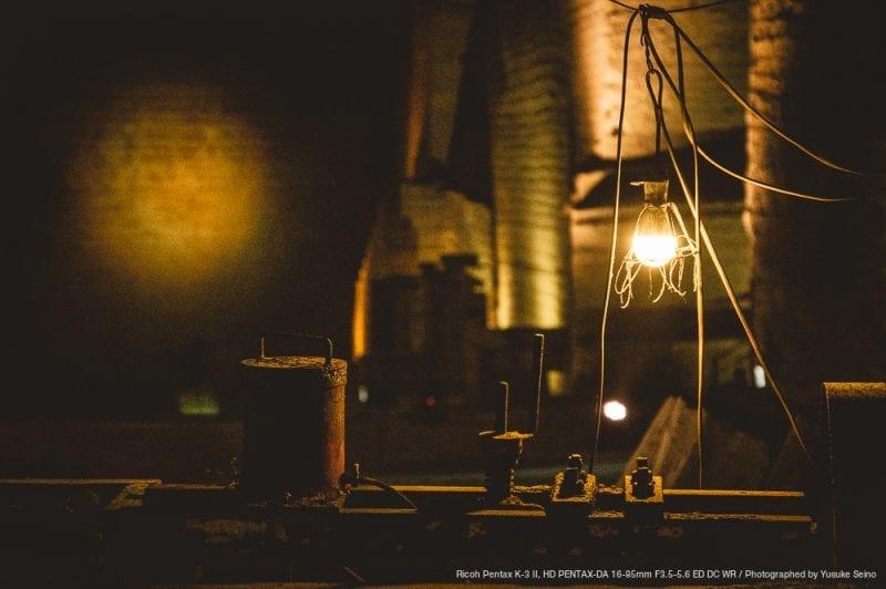 当時の雰囲気を纏う電球の写真