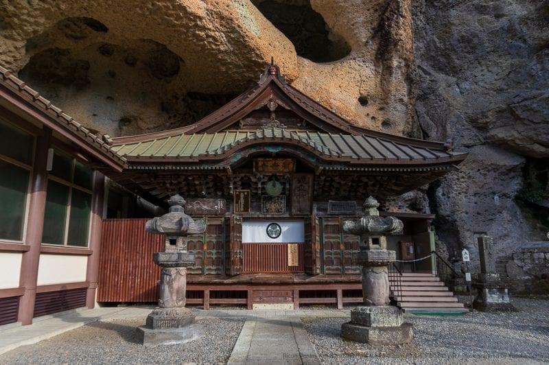 大谷寺本堂外観の写真
