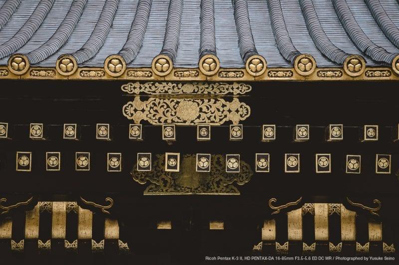 徳川家の家紋の写真