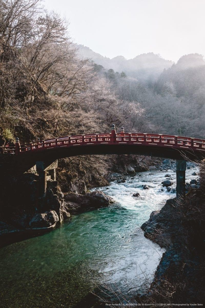 神橋の写真