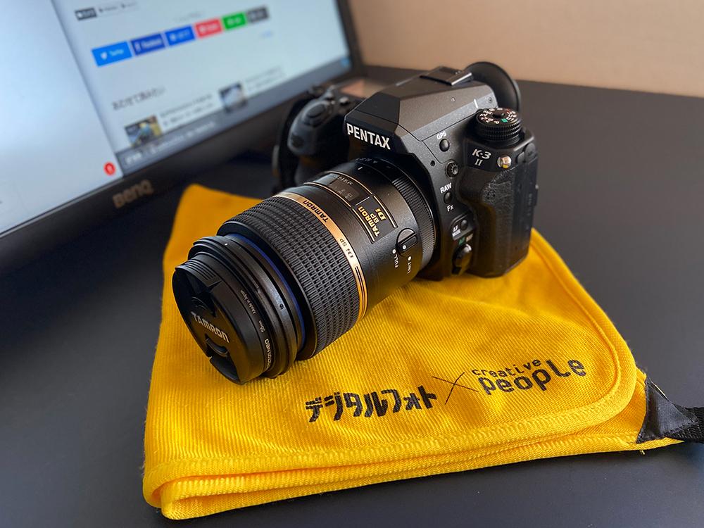 デジタルフォトの付録のカメラ風呂敷